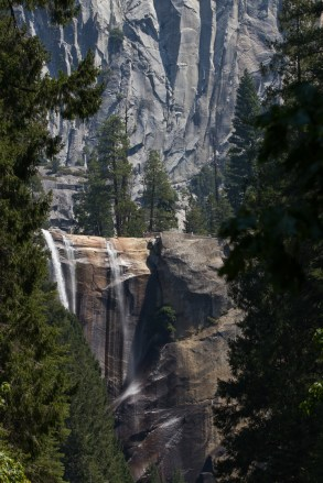 vernal falls at low water
