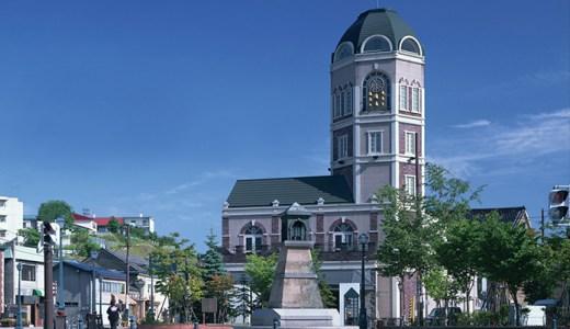 みどころいっぱいの観光スポットにあるルタオ小樽本店