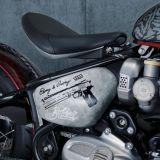 コラボ企画の「Bonneville Bobber」1,200ccバイクは、世界に1台の超レアに
