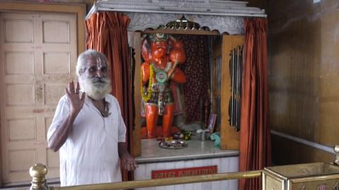 A hindu priest/ Ein Hindu-Priester