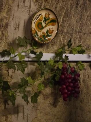 Wine cellar wall decoration