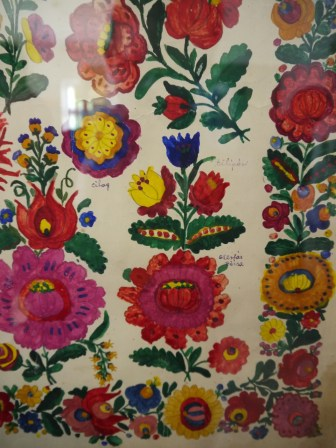 Traditional Hungarian painting