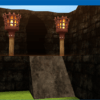 "Smile Game Builder High Quality Assets: ""Old Ruins"" Cave Entrance"