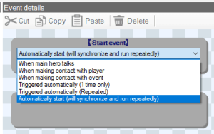 Parallel Event Triggers in Smile Game Builder