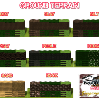 Ground Terrain #1 - Hi-Tex Terrain Pack for Smile Game Builder
