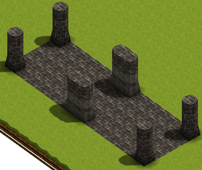 """Smile Game Builder High Quality Assets: """"Old Ruins"""" Stone Terrains"""