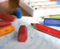クレヨンと鉛筆