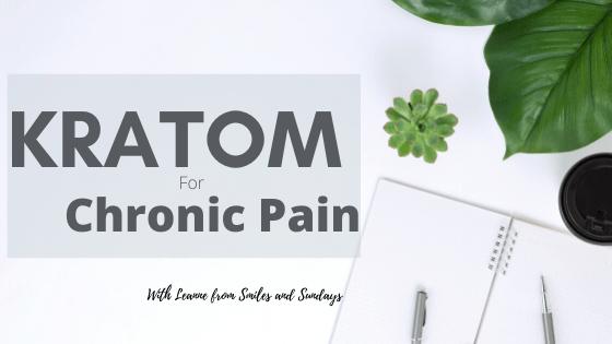 Kratom for Chronic Pain