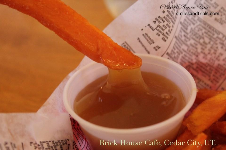 3263 sweet potato fries caramel sauce