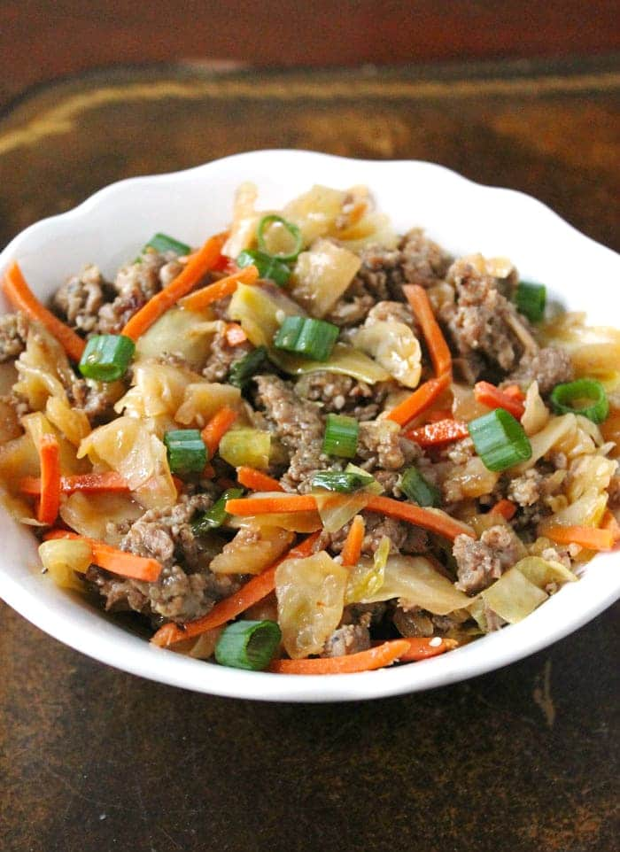 Amish One-Pan Ground Beef and Cabbage Skillet - Smile Sandwich