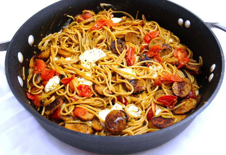 Spaghetti and sausages essay