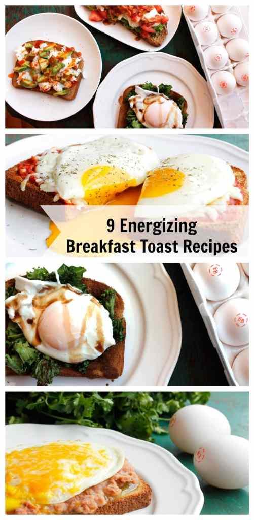 9 Energizing Breakfast Toast Recipes