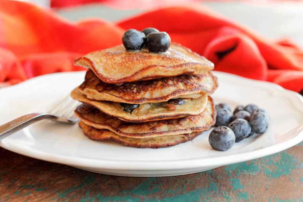 Grain-Free Blueberry Pancakes-2