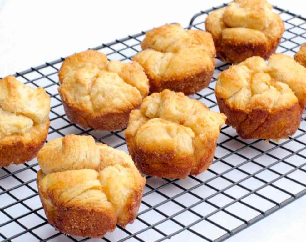 Pumpkin Monkey Bread Muffins