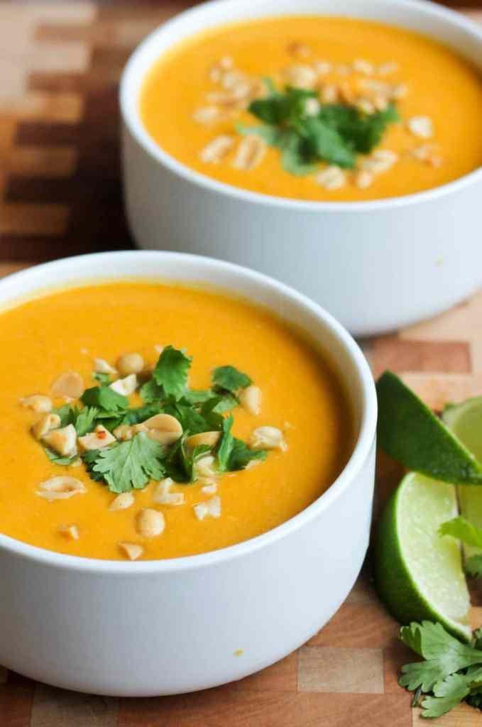 Slow Cooker Thai Butternut Squash Soup