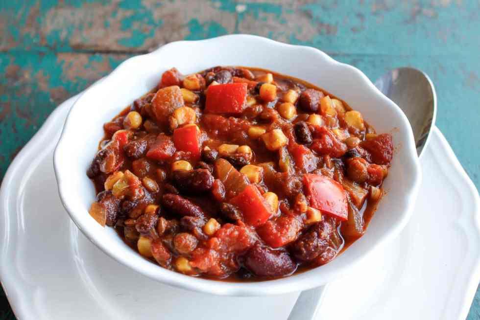 Vegetarian Lentil Chili