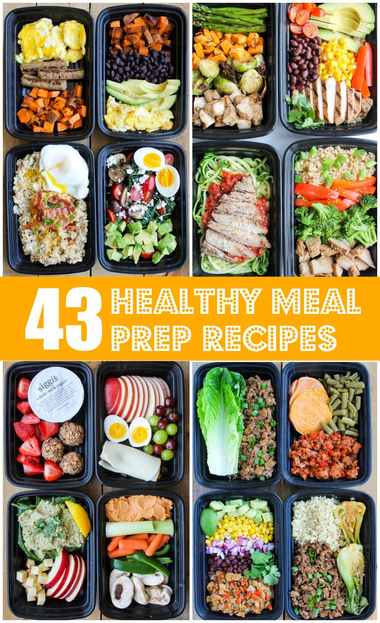 43 Healthy Meal Prep Recipes That Ll Make Your Life Easier