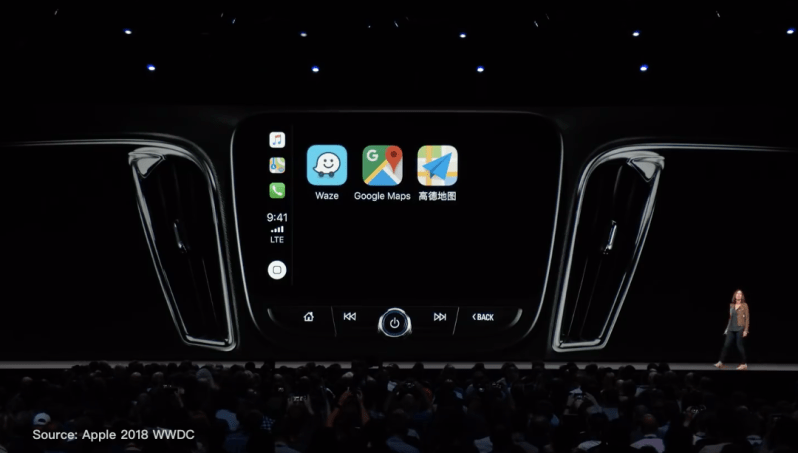 ios12 carplay google maps