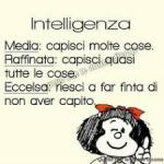 mafalda e l'intelligenza