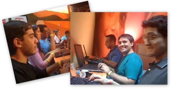 Blogueiros no Teleton