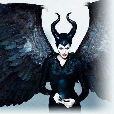 malévola o filme maleficent-wings