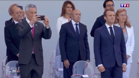 フランス革命祭2018_シェンロン首相