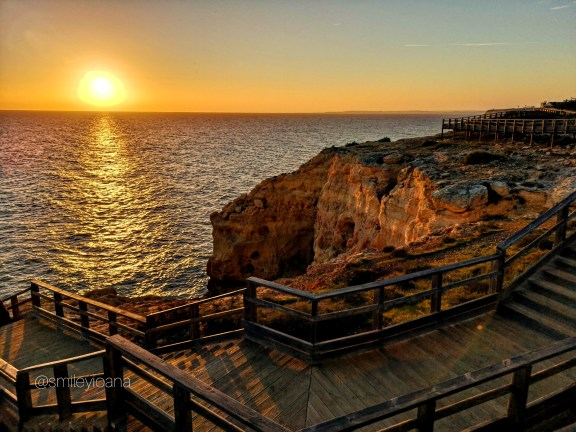 Sunset on the Algarve Coast