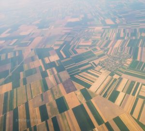 Airplane *view of fields