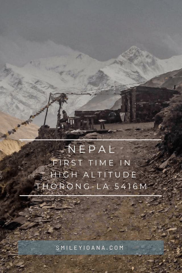 smileyiacoana | Nepal First Time in High Altitude