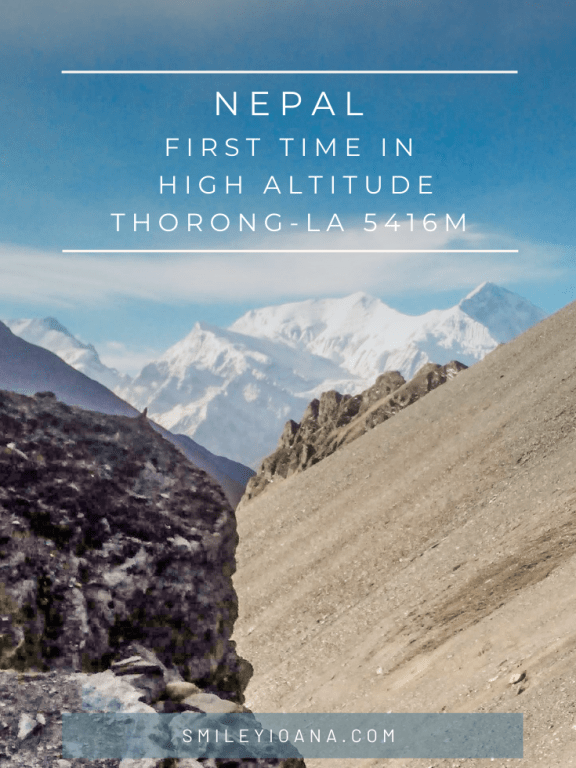 First time in high altitude and how to prepare|Nepal Annapurna Circuit Trek 5416 m