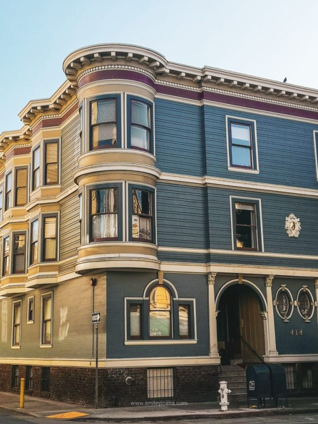San Francisco Pacific Heights Corner House