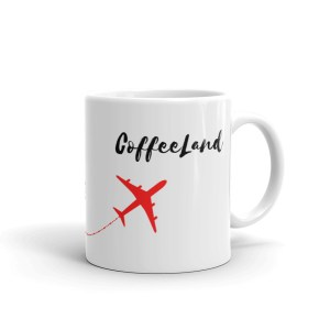 smileyioana.com | Next Destination ❤ CoffeeLand – White Coffee / Tea Mug
