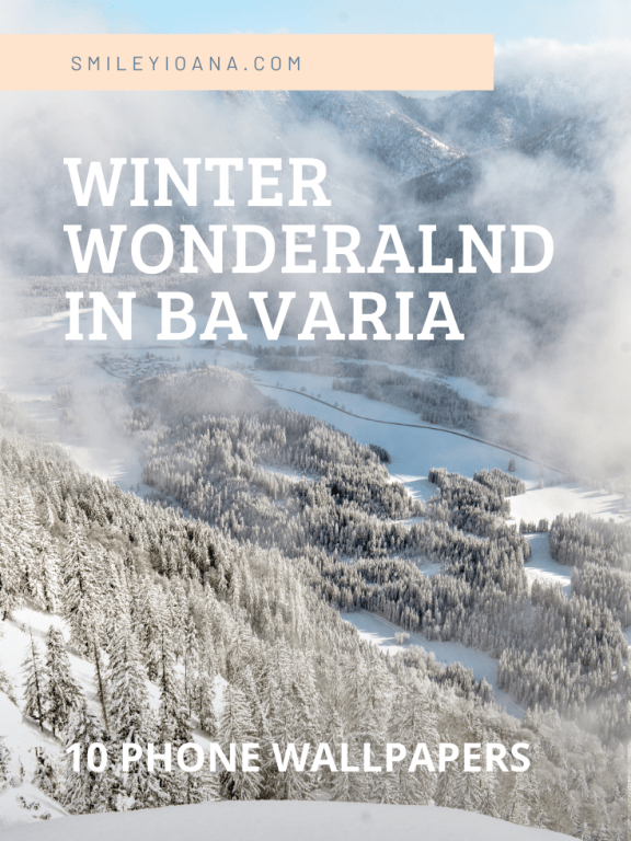 Winter Wonderland in Bavaria| 10 Phone Wallpapers