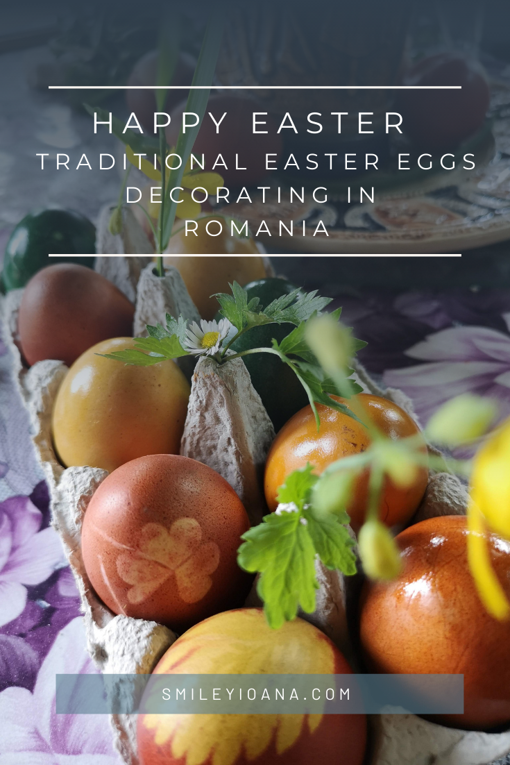 smileyioana.com | Happy Easter - Traditional Egg Decorating Romania Post Cover
