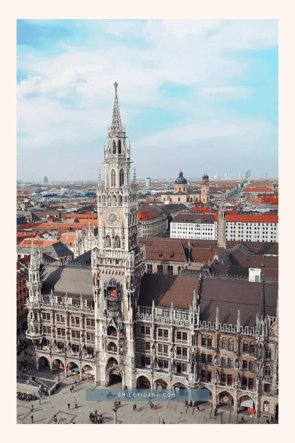smileyioana.com | 5 Munich Landmarks Phone Wallpapers - New City Hall