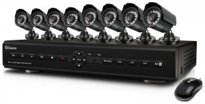 Swann SWDVK-825508 8-Channel Digital Video Recorder with Smartphone Viewing and 8 x PRO-550 Cameras