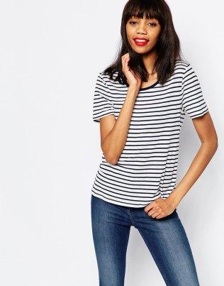 stripe tshirt spring