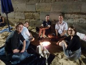 Pique-nique nocturne à Paris Plages