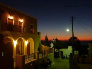 Premières lueurs de l'aube, quelque part dans les Cyclades, septembre 2013