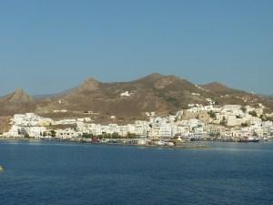 Arrivée à Naxos