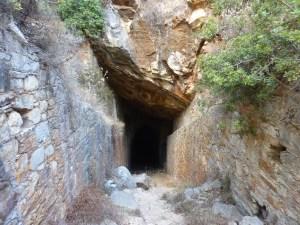 L'entrée dans la mine