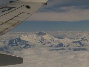 Survol des Annapurnas, juin 2012