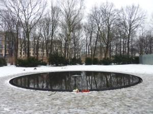 Mémorial dédié aux Roms