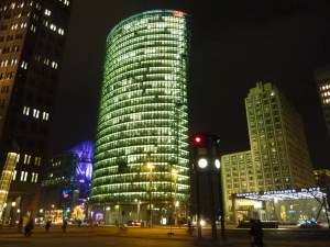 Les buildings scintillants de Potsdamer Platz