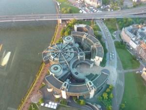 L'étonnant bâtiment du Parlement