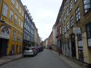 Les maisons colorées du quartier
