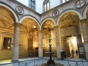 A l'intérieur du Palazzo Vecchio