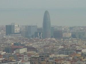 La tour Agbar, de l'architecte Jean Nouvel (oui, oui, c'est phallique…)