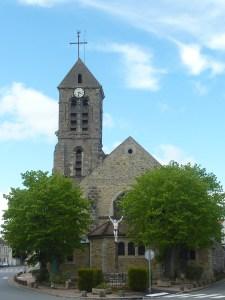 L'église de Marolles et son calvaire