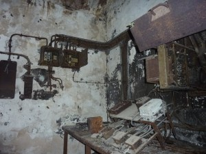 Dans un bunker